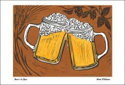 Foam clipart beer cheers