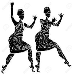 Africa clipart african dancing