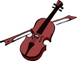 Violin clipart classical