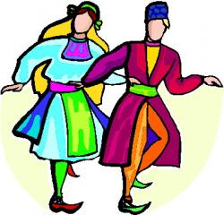Traditional clipart cultural dance