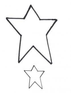 Folk clipart primitive star