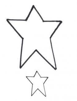 Folk clipart primitive star