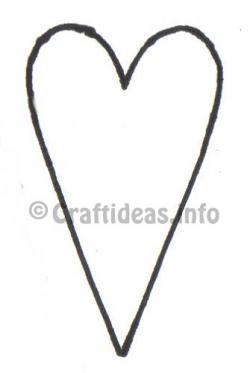 Rustic clipart primitive heart