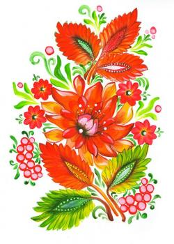 Ukraine clipart flower