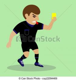Soccer clipart judge