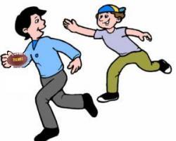 Football clipart touch football