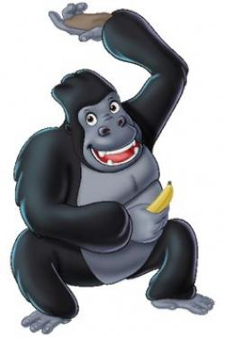 Cute Gorilla Clipart