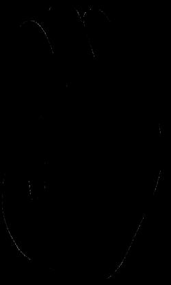 Orangutan clipart footprint
