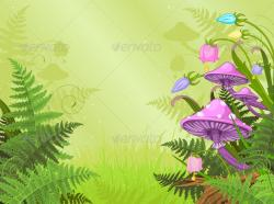 Fantasy clipart magic forest