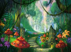 Forest clipart magical forest