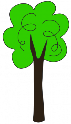 Heights clipart tall short tree