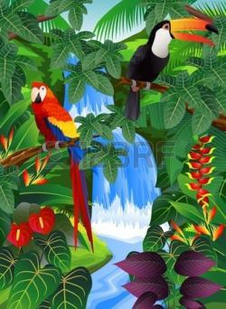 Savannah clipart tropical forest