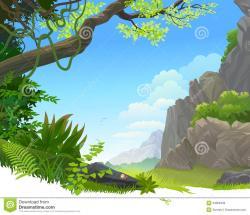 Jungle clipart wilderness