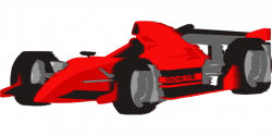 Formula One clipart fast car