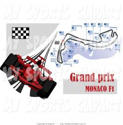 Formula One clipart flag