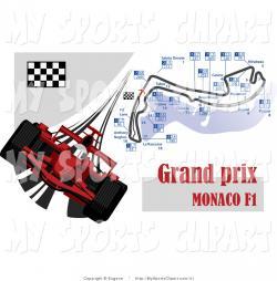 Formula One clipart flag