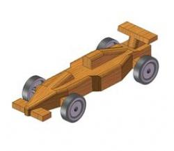 Formula One clipart pinewood derby car