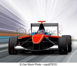 Formula One clipart speed car