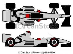 Formula One clipart supercar