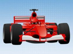 Formula One clipart vector