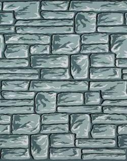 Cobblestone clipart castle wall
