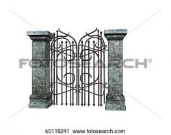 Fort clipart castle gate