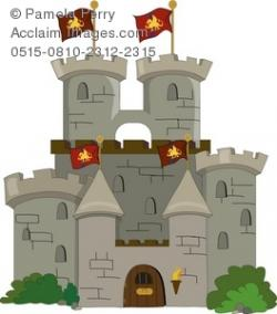 Fortress clipart medieval castle