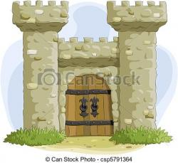 Fortress clipart castel