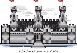 Fortress clipart castle drawbridge