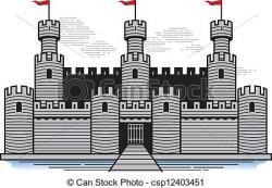 Fortress clipart castle drawbridge