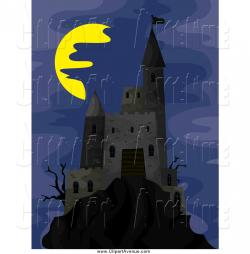 Fortress clipart dark castle