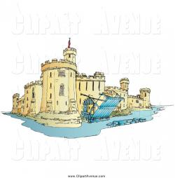 Fortress clipart moat