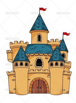 Fortress clipart princess castle
