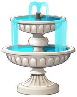 Fountain clipart