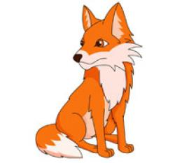 Red Fox clipart