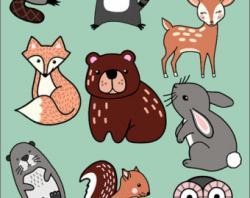 Beaver clipart tribal