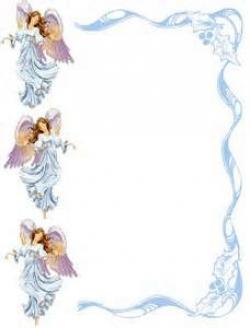 Frame clipart angel