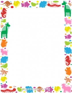 Frame clipart animal