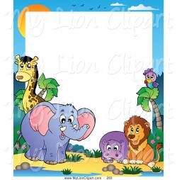 Exotic clipart frame