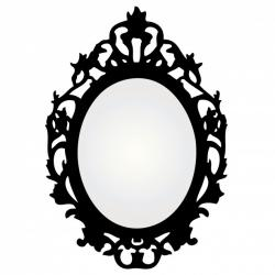 Frame clipart antique mirror