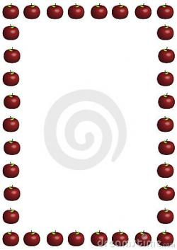 Frame clipart apple