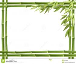 Frame clipart bamboo