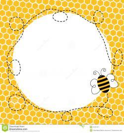Honeycomb clipart border