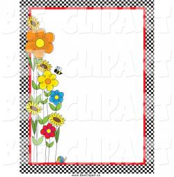 Frame clipart bee