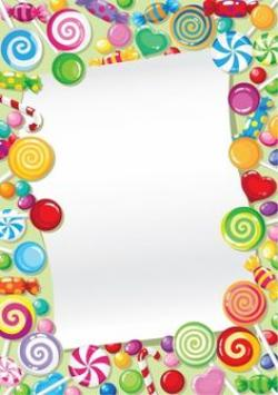 Frame clipart candy