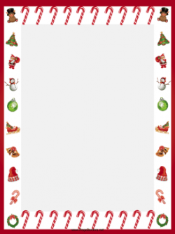 Candy Cane clipart border
