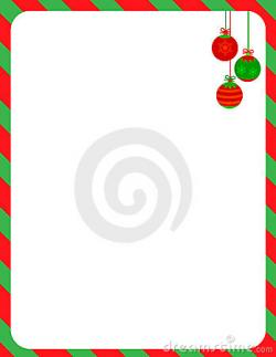 Frame clipart candy cane