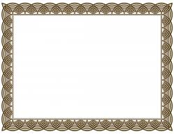 Frame clipart certificate