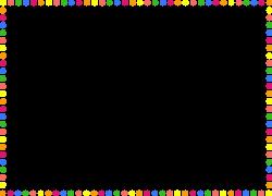 Line clipart polka dot