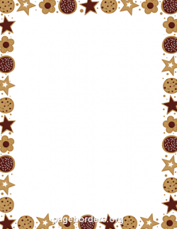 Frame clipart cookie